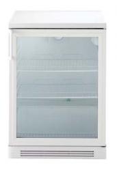 Холодильный стол со стеклянной дверью, 160 л, белый