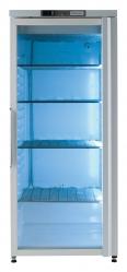 Морозильный шкаф,одна стеклянная дверь, белый, 400 л