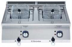 Фритюрница электрическая настольная, 2х7 л