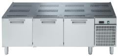 Подставка холодильная, 1600 мм (3 выдвижных ящика)