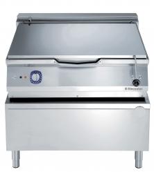 Сковорода тигельная электрическая (дно из низкоуглеродистой стали), 80 л, автоматическое опрокидывание