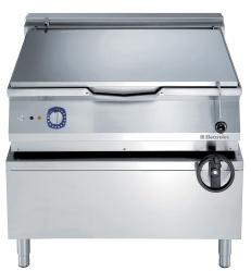 Сковорода тигельная электрическая (дно из нержавеющего сплава Duomat), 80 л