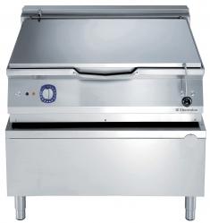 Сковорода тигельная электрическая (дно из низкоуглеродистой стали), 100 л, автоматическое опрокидывание