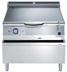 Сковорода тигельная газовая (дно из низкоуглеродистой стали), 80 л, автоматическое опрокидывание