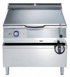 Сковорода тигельная газовая (дно из нержавеющего сплава Duomat), 80 л