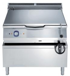 Сковорода тигельная газовая (дно из нержавеющего сплава Duomat), 100 л