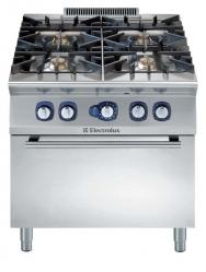 Плита газовая, 4 конфорки (6 кВт), с газовой духовкой
