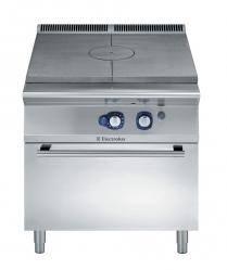 Плита газовая концентрического нагрева с газовой духовкой, 800 мм
