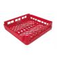 Кассета красная для 5 подносов размером 530х370 мм