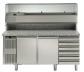 Стол холодильный для пиццы Electrolux, 2 двери и 6 ящиков