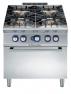 Плита газовая, 4 конфорки (10 кВт), с газовой духовкой